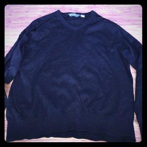 Stylish V-Neck Sweater By Eddie Bauer